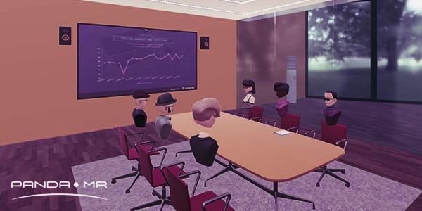 PandaMR - Virtual meeting room